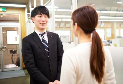入社して2年ですが、富士精版で働くようになって何か気付いたことはありますか?